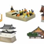 世界遺産、京都の「二条城」が精巧なミニチュアフィギュアになってガチャに登場!