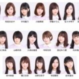 『【乃木坂46】久保ちゃんが2列目・・・『日常』MVで判明した22ndアンダーポジションがこちら!!!』の画像