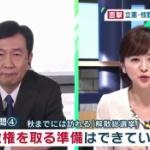 菅内閣の支持率、過去最低の37% ⇒ なのに、立憲の支持率も下がって5%に!
