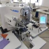 『JUKI AMB-289(根巻きボタン付けミシン)、JUKI MF-3620(フラットシーマ)のセットアップ&調整をしました!』の画像