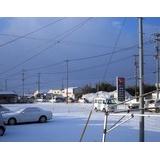 佐賀は雪、珍しく渋滞です