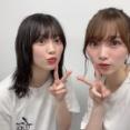 【櫻坂46】このツーショット、可愛すぎると話題に...
