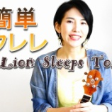 『YouTube「The Lion Sleeps Tonight」』の画像