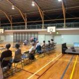 『戸田市全域に、一般の方は避難準備、高齢者や歩行が困難な方は避難を開始する警戒レベル3が発令されました。戸田第一小学校の避難所も開設されています。』の画像