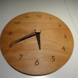 『【SWINGの小物】240丸の水目桜の掛け時計』の画像