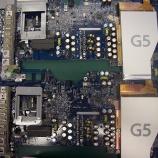 『i Mac G5のロジックボード コンデンサ交換2枚』の画像