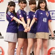 大島優子(25)W杯日本代表を応援 「歴代のサッカー日本代表のユニフォームを10着以上持ってます」 アイドルファンマスター