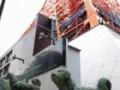 「南極物語」のタロ・ジロ像、15日撤去 東京タワーに苦情殺到、ネットで批判の嵐