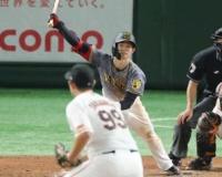 【阪神】中野が「牛若丸」に並んだ ヒット2本を放ち、今季119安打 球団歴代新人で吉田義男氏と7位タイ