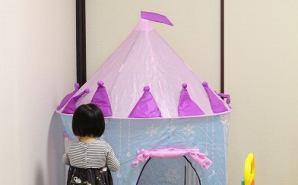"""娘が""""大喜び""""した子ども用テント"""