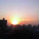 『朝日が昇る』の画像
