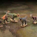デスクトップが小さな恐竜博覧会に!「恐竜発掘記8 恐竜造形大博覧会」ガチャに登場!