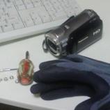 『ビデオカメラを・・・』の画像