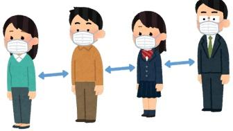 【悲報】JK、何とマスクをつけてるだけの男性を通報、メールで注意喚起