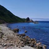 『【北海道ひとり旅】日本海ドライブ 神恵内村『西の河原』』の画像
