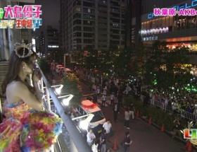 大島AKB卒業公演、劇場外に集まった数百人のオタをご覧ください