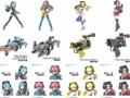 【朗報】バンダイ、美少女が銃に跨がる斬新なプラモデルシリーズを発売(画像あり)