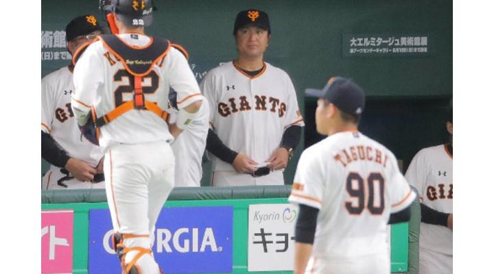 巨人・小林、1打席目からの代打に由伸監督「打てないなら守らなくちゃいけないんですけど」