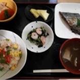 『1号館昼食(鶏そぼろちらし寿司)』の画像