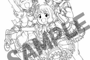 【ミリオンライブ】「Blooming Clover」10巻限定版カバーラフイラストが先行公開!!!