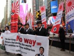 韓国人がマンハッタンで反日デモ ⇒ 周囲のアメリカ人の目wwwwww
