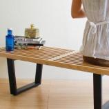 『部屋が狭いならソファよりもベンチが便利かも 【インテリアまとめ・リビング 狭い 】』の画像