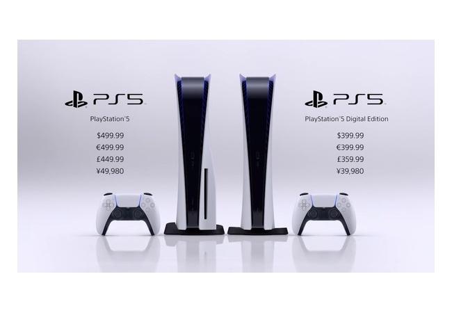 『PS5』11月12日に発売決定!!価格は通常版が49980円、デジタルエディション版39980円