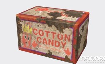 ひとくち綿あめ(Cotton candy bites)