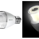 ソニーが電球スピーカーを発売、電球を取り替えるだけで、照明が音楽再生機器に
