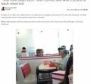 カリフォルニアの男性、ハンバーガー屋で嫁の写真をテーブルに置いて食事。全米が泣いた