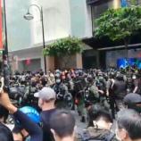 『【香港最新情報】「国慶節デモ、86人逮捕」』の画像