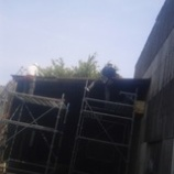 『波トタン 屋根』の画像