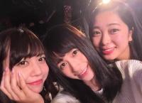 岩田華怜卒業公演を元AKB48 12期生サイード横田絵玲奈と鈴木里香が観覧!