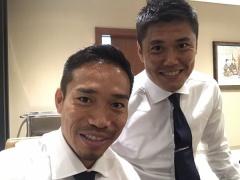 【 画像 】アウェイのイラク戦に向けて出発するに日本代表メンバー!空港で世代別にパシャリw