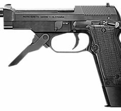 【ベレッタM93R】法執行機関のみ使用が許される特殊拳銃