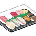 【醤油一滴】今から寿司食うからお前ら見てくれwwwwwwww(画像あり)