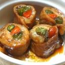 豚肉の八幡巻・生姜焼き・大根と豚バラ煮込み