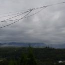 雲に覆われた空