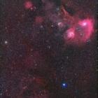 『ぎょしゃ座の散光星雲と超新星残骸Sh2-240』の画像