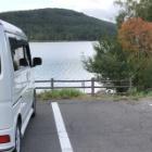 『エブリィワゴンで車中泊イン白樺湖』の画像