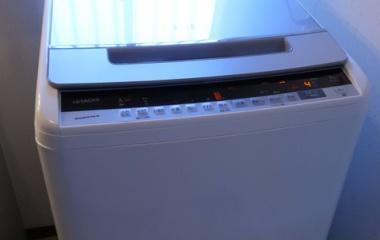 『ビートウォッシュ日立全自動【BW-V90E】縦型洗濯機9キロはパワフルで時短節水名人』の画像