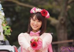 お花の冠をした広瀬アリスちゃんが可愛すぎる!