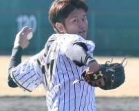 阪神岩貞が熊本トレ終える、震度6は「結構揺れた」