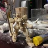 『【画像あり】割り箸でガンダム作った』の画像