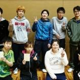 『第79回仙台市個人卓球選手権大会』の画像