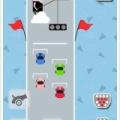 Flat Cars - 2D版マリオカート?アイテムを使って敵を撃破するレースゲーム。
