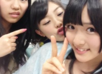 【AKB48】田野優花・武藤十夢・大森美優の関係がよくわかる写真www