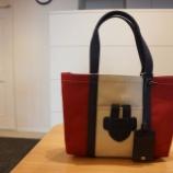 『TILA MARCH(ティラマーチ)SIMPLE BAG Sトリコロールトートバッグ』の画像