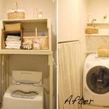 『100均DIYで作る棚の作り方(キッチン アンティーク 塗装 賃貸 トイレ 百均 森泉 引出 1/5』の画像