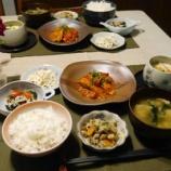 『月末の夕飯! 金曜日と月末は冷蔵庫の食材整理メニュー!!』の画像